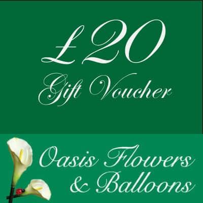 £20 Gift Voucher Oasis Flowers