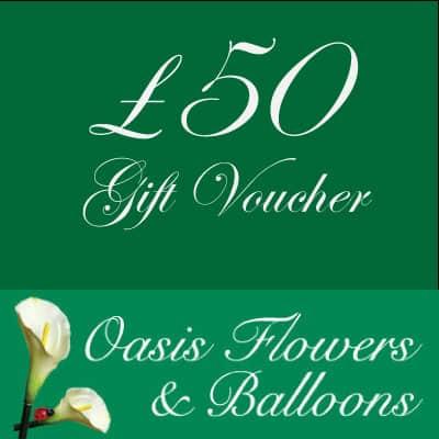 £50 Oasis Flowers Gift Voucher