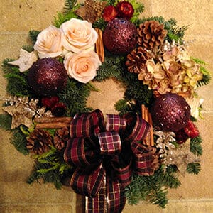 Christmas Wreath Yuletide