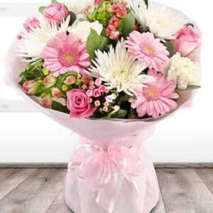 image of pink blush flowers for mothers day