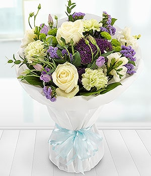 Image of Simply Vintage Bouquet - Oasis Flowers in Bromsgrove
