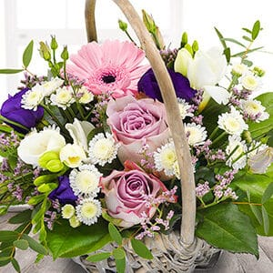 Sweet Basket Bouquet at Oasis Flowers - Mother's Day Flowers